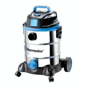 Vacmaster Wet Dry Vacuum 30 Litre 1500w Stainless Tank Sync Function 800 watt