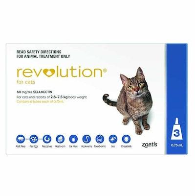 Revolution Flea & Worm Treatment For Cats