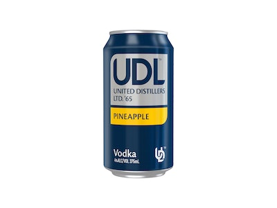 UDL Vodka & Pineapple Can 375mL