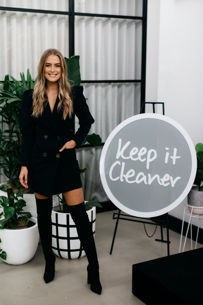 LENZO Keep It Cleaner Grocery Launch