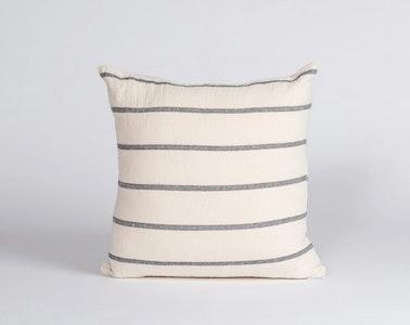 Hand Woven Cushion –Thick Stripe