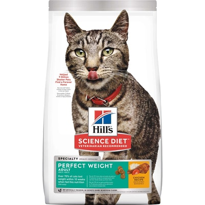 Hills Hill's Science Diet Perfect Weight Adult Dry Cat Food