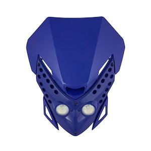 Viper Motocross Front Headlight - Blue