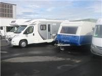 Part of the extensive stock of motorhomes