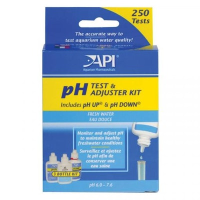 API Deluxe P.H Test Kit with liquid adjusters