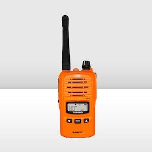 GME 5/1 Watt UHF CB Handheld Radio - Blaze Orange  IP67