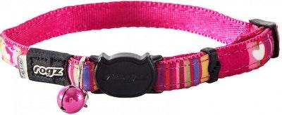 Rogz Collar Safeloc Neocat Pink Candy