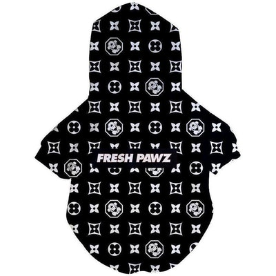 Fresh Pawz USA Fresh Pawz -Monogram Hype Hoodie | Dog Clothing