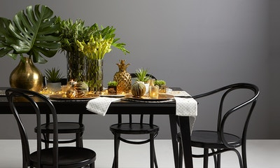 Get Festive with Botanicals & Brass