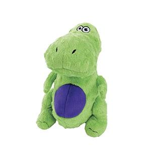 Quaker Dog Toys Quaker Go Dog Toys - T-Rex Green - Small