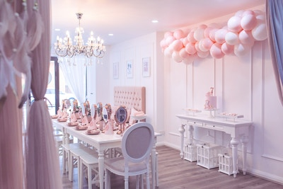 PRETTY IN PINK PAMPER PARTY