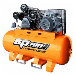SP50 Air Compressor 270Lt 10hp 3 Phase Electric Triple Cast Iron SP50