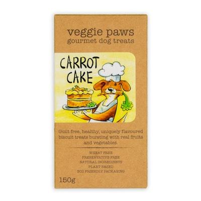 Veggie Paws Carrot Cake 150G