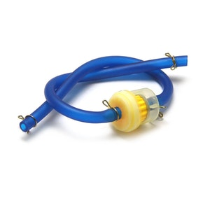 Fuel Line with Filter - Blue