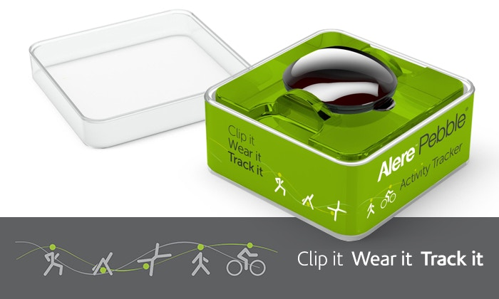Clip it, Wear it, Track it. Introducing the Alere Pebble™
