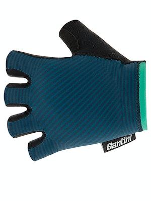 Santini Mille Gloves Teal