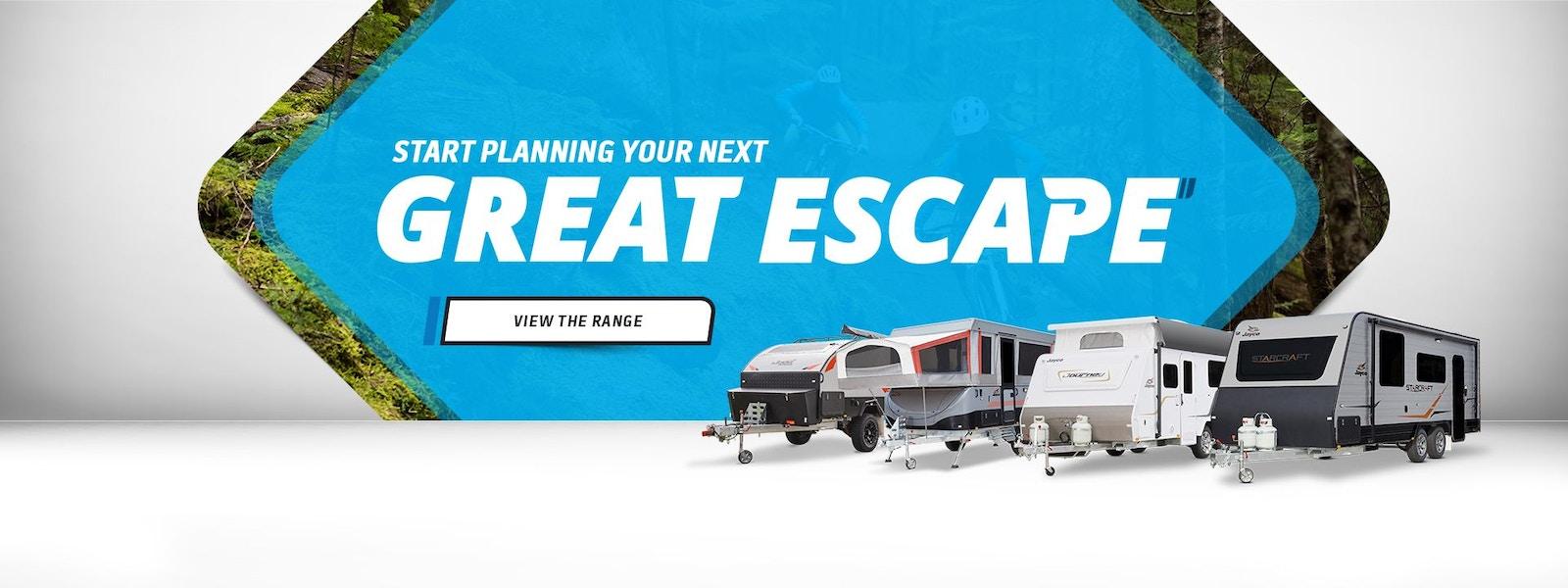 Start your next Escape