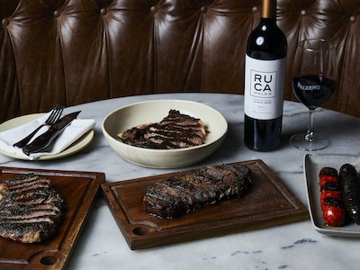 LUX  ~ Luxurious BBQ meat pack  ~ Vino Included