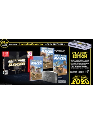 Limited run - star wars episode 1 racer for Nintendo switch classic edition