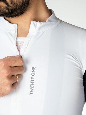 Twenty One Cycling Aero Midweight jersey - Snow - Men