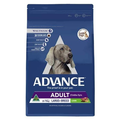 Advance Large Plus Adult Lamb Dry Dog Food 15Kg
