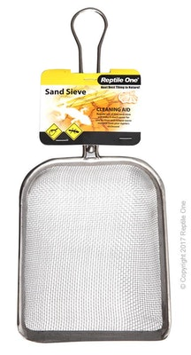 Reptile One Sand Sieve Stainless Steel