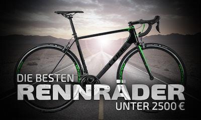 Die besten Rennräder unter 2.500€
