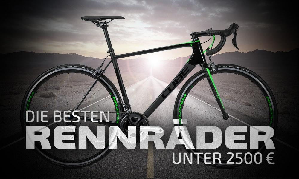 Top 7 Rennräder unter 2.500€ | BikeExchange.de