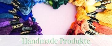 Herz aus Garn: Handmade Produkte