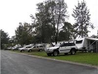 Domestic caravanning and camping has a huge following