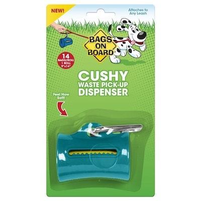 Bags On Board Cushy Soft Dispenser - Teal + 14 Bags
