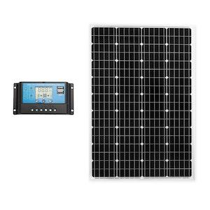 ATEM POWER ATEM POWER 130W Solar Panel Kit Mono Generator Caravan Camping Power Battery Charging 12V