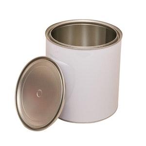 4L Metal Open Top Can & Lid