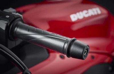 Evotech Performance Bar End Weights To Suit Ducati Panigale 1299 2015 - 2017