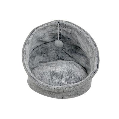 T&S Eskimo Cat bed Moonlight Grey