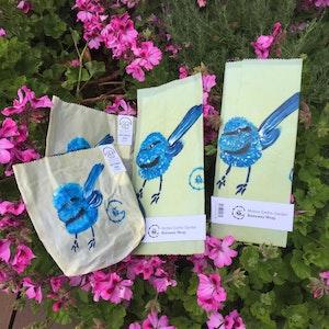 Dream Forest Studio Blue Wren Beeswax Set