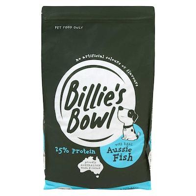 Billie's Bowl Senior with REAL Aussie Fish Dry Dog Food 10kg