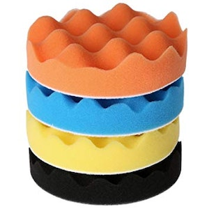 75 x 25mm Waffle Foam Pads - 3 Colours Available