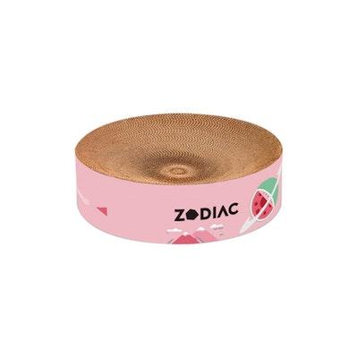 ZODIAC Round Cat Scratcher - Watermelon 40X40X10 Cm