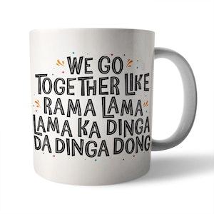 We Go Together Ceramic Mug