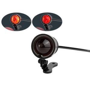 Vintage Mini LED Brake Light - Red Lens