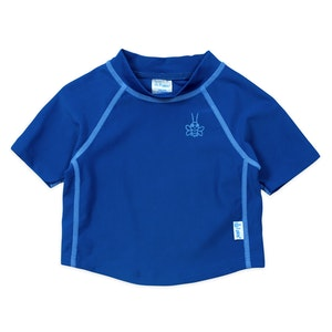 i play. Short Sleeve Rashguard Shirt - Royal Blue