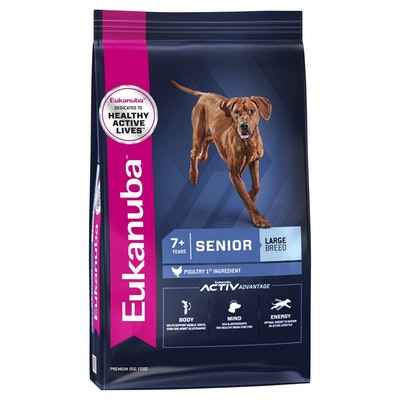 Eukanuba Dry Dog Food Senior Large Breed 14kg