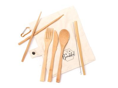 Beeutiful Bamboo Cutlery Set