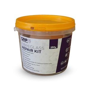 GRP Fibreglass Repair Kit 250g - Boats / Surfboards / Home / Cars & Caravans