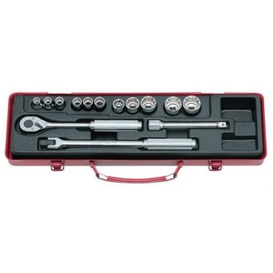 "Socket Set 14 Piece 3/8""Dr-12Pt 8-22mm KO3220M KoKen"