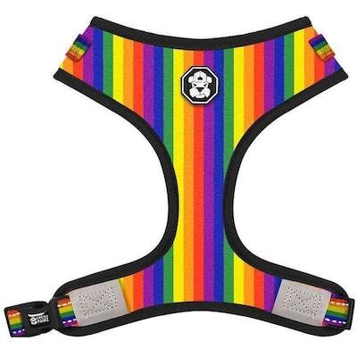 Fresh Pawz USA Fresh Pawz -Pride Flag | Adjustable Mesh Harness