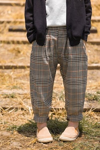 Soft Checkered Pants (1-7yrs old)
