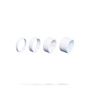 LiteSpace Headset Spacer 1 1/8 5/10/15/20 White