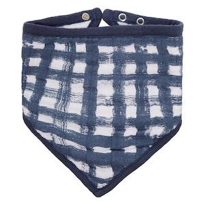waverly classic muslin adjustable bandana bib